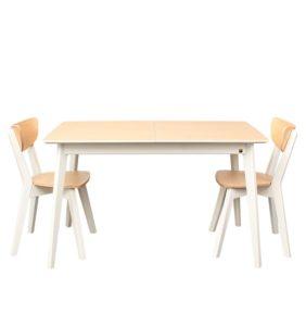 розкладний деревяний стіл