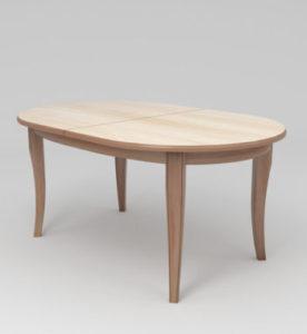 великий розкладний деревяний стіл