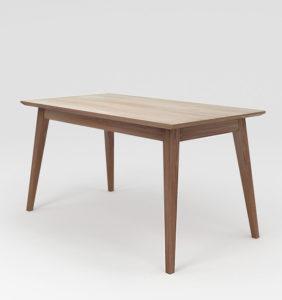 стіл деревяний розкладний з деревяним обкладом