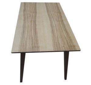 стіл дерявяний розкладний з деревяним обкладом